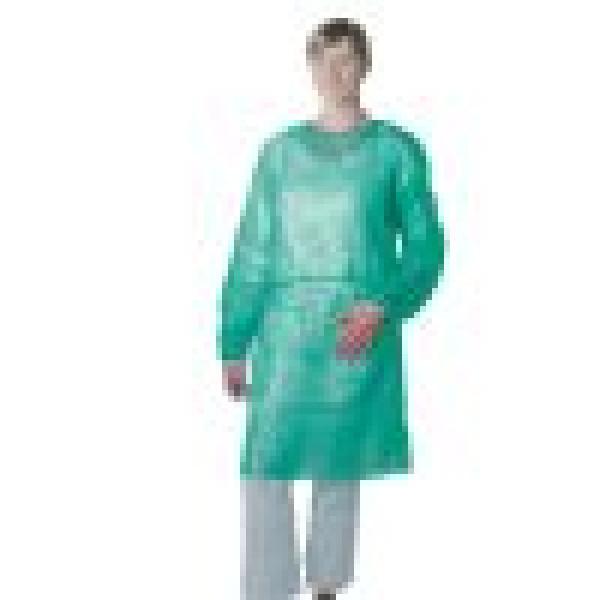 5130 Vizitoru halāts , zaļš.  Nr. 1 svars 30gr