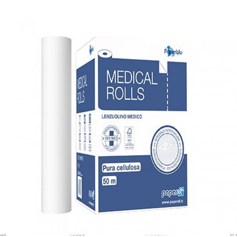 Medicīniskais papīra rullis 60 cm x 50 m