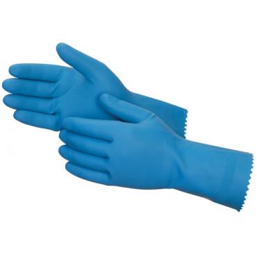 GR03 Industriālie cimdi, zili, ķimiskio izturīgi Shield